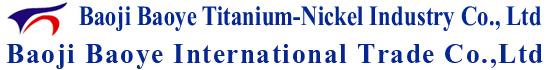 Baoji Baoye Titanium-Nickel Industry Co., Ltd